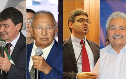 Pesquisa Credibilidade aponta W. Dias com 40,20%; Dr. Pessoa 16,45%; Luciano 15,52% e Elmano Férrer com 5,82%.