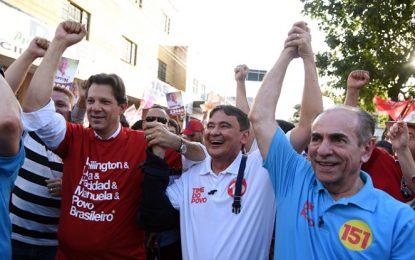 Haddad exclui Ciro Nogueira e pede votos só para Marcelo e Wellington