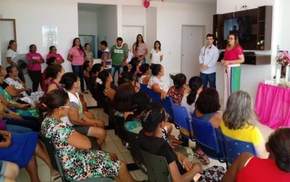 Marcos Parente realiza ações alusivas ao Outubro Rosa e Novembro Azul
