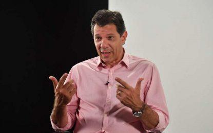 "Fernando Haddad diz que Bolsonaro ""fomenta a violência"""