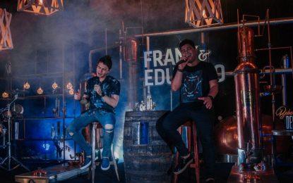Frank & Eduardo gravam DVD na Fábrica da Cachaça Vale do Riachão