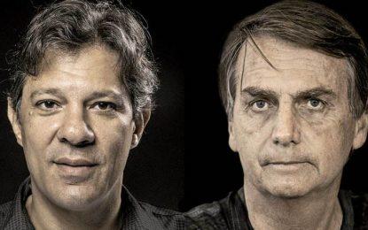 Vox Populi: Haddad cresce e chega a 46% dos votos válidos; Bolsonaro tem 54%