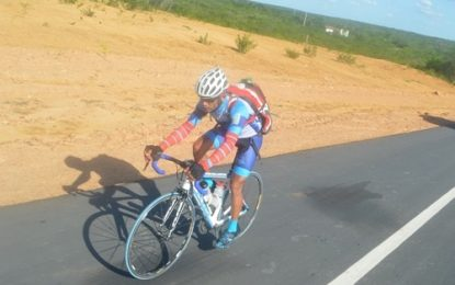 Pela 2ª vez Joel Duarte vem de Itapevi-SP ao Piauí de bicicleta