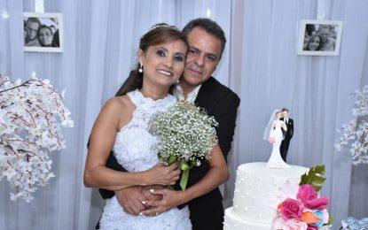 Sílvio Lima e Joselma Marques realizam sonho e se casam no religioso