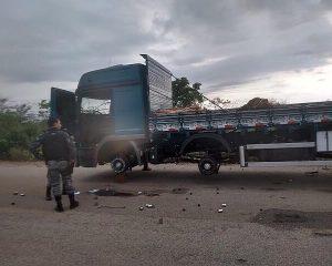 Bandidos sequestram caminhoneiros e roubam pneus no Piauí