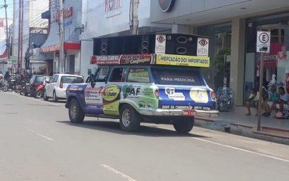Prefeitura de Picos proíbe uso de microfone em carros de propaganda