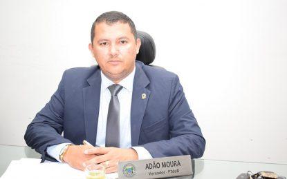 Vereador Adão Moura dedica mensagem de natal e ano novo aos guadalupenses
