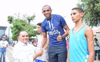 Marcos Parente realiza programação esportiva no aniversário de 56 anos