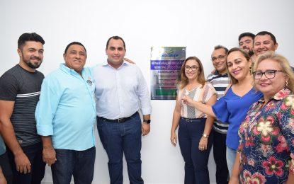 Prefeita Neidinha e Georgiano Neto inauguram 1ª etapa do estádio de Guadalupe