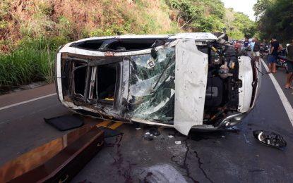 Acidente entre São João dos Patos e Paraibano deixa vitima fatal e três feridos
