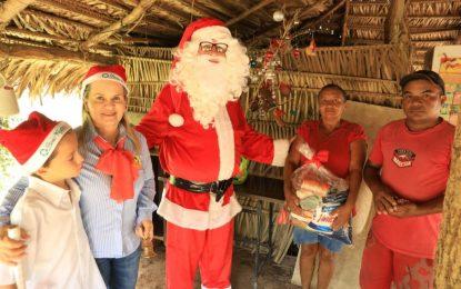 Grupo Progresso realiza Natal Solidário em Guadalupe, Sebastião Leal, Uruçuí e Bertolínia