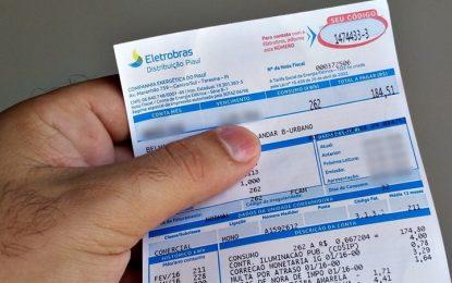 A cada 100 cobrados por energia elétrica, 33,90 são de impostos