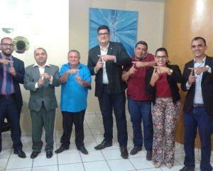 Tharlis Santos toma posse como presidente da Câmara de Guadalupe