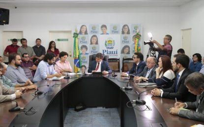 Governador trata sobre infraestrutura com produtores de soja do Piauí