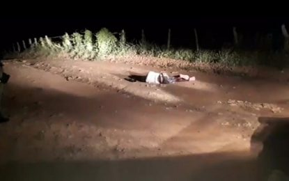Cadáver é encontrado na estrada do lixão de Floriano