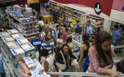Consultas de CPFs para vendas a prazo no comércio crescem 2,8%