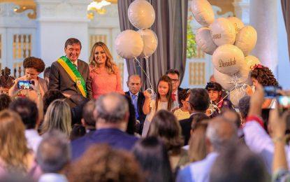 Wellington Dias é empossado para 4º mandato como governador do Piauí