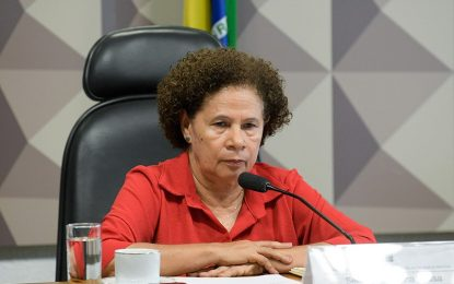 """""""Ele vai descer do palanque"""", diz Regina Sousa sobre Jair Bolsonaro"""