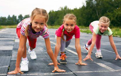 Qual é a idade ideal para as crianças começarem a correr?