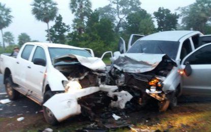 Acidente envolvendo dois carros deixa 08 feridos no Piauí