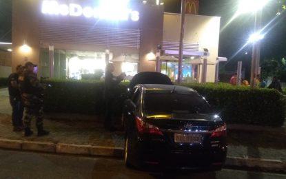 Acusado morre durante tentativa de assalto ao McDonald