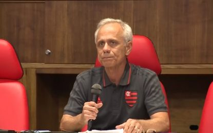 Presidente do Flamengo cita picos de energia como causa de incêndio