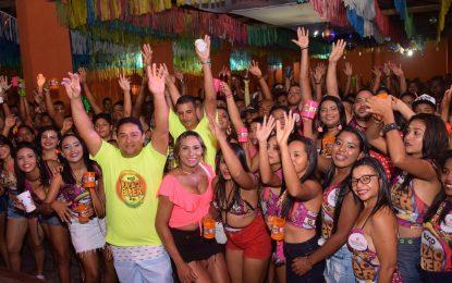 Carnaval do Razão de Beber  encerra com churrasco e arrastão em Guadalupe