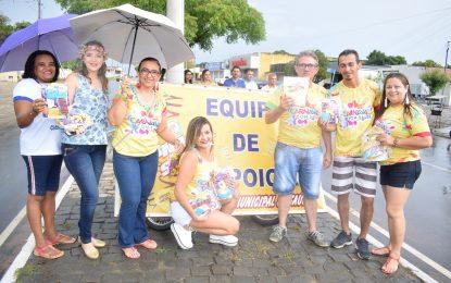 Secretaria de Saúde de Guadalupe realiza blitz educativa para a prevenção de DST's
