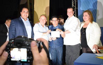 Kassab, Júlio César e Georgiano Neto comandam festival de filiações de prefeitos no I Encontro Social Democrático do PSD