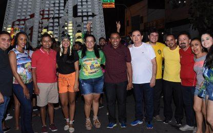 Arrastão de paredões e bandas em Floriano marcam o seu 3º dia do carnaval