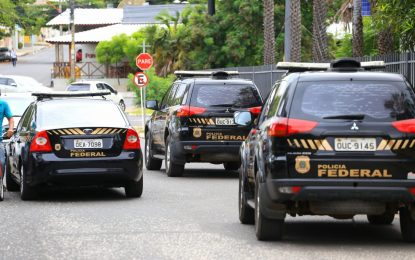 Polícia Federal cumpre mandados de busca e apreensão na Seduc