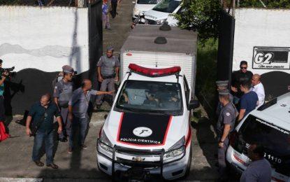 Polícia apreende menor suspeito de organizar massacre em Suzano