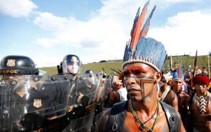 Bolsonaro escala Força Nacional para protesto de indígenas em Brasília