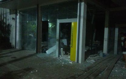 Bando explode três agências bancárias simultaneamente em Campo Maior