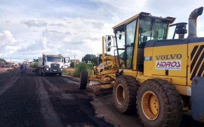 DER inicia obra para dar melhor trafegabilidade à BR 316