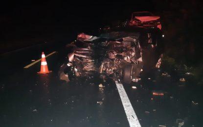 Colisão entre dois carros envolvendo animal deixa 10 feridos na BR-343 em Campo Maior