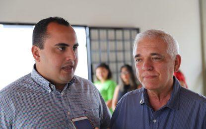 Georgiano Neto e Themístocles ensaiam parceria para eleições de 2020 em Teresina