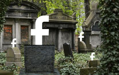 Facebook será um cemitério digital em 50 anos, aponta estudo