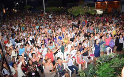Dia do Evangélico em Guadalupe é comemorado com o show de Mattos Nascimento