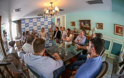 Ciro Nogueira reúne Progressistas para reunião de avaliação