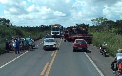 Homem morre em grave acidente na BR 343 no Piauí