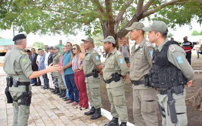 Solenidade marca a posse do novo comandante da 2ªCIA/10°BPM em Guadalupe