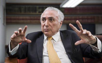 STJ decide por unanimidade soltar Michel Temer, preso em São Paulo
