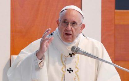 Papa Francisco diz que liberdade de imprensa é vital