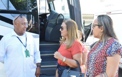 Prefeita de Guadalupe participa da abertura dos trabalhos Justiça Itinerante