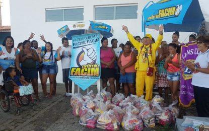 LIONS Clube e FACIM promovem ação social em Guadalupe