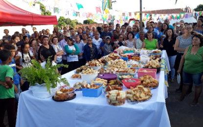 Começou o tradicional festejo de São João Batista em São João dos Patos