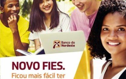 Banco do Nordeste abre inscrições para financiamento estudantil