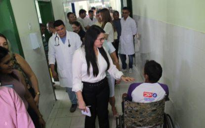 Deputada cobra isonomia do Governo na manutenção dos hospitais regionais