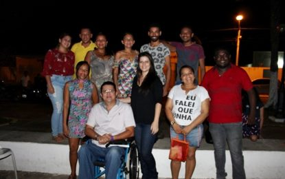 Cinema Popular é lançado em Jerumenha e reúne população na praça de Santo Antônio